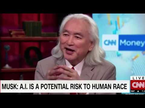 Michio Kaku - Pros & Cons of AI -  Zuckerberg vs  Musk
