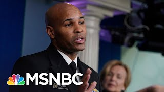 As Surgeon General Warns Of 'Pearl Harbor Moment', U.S. Surpasses 9,000 COVID-19 Deaths | MSNBC