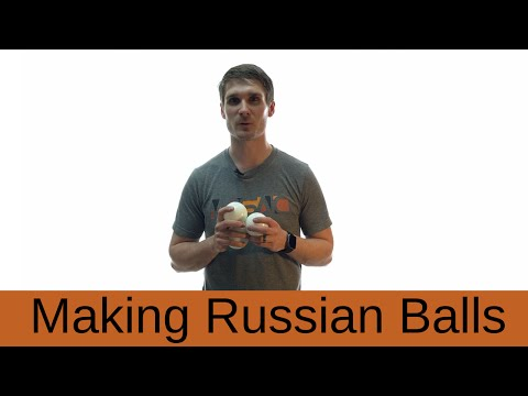 How to Make Russian Juggling Balls
