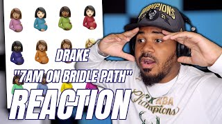 Drake - 7am On Bridle Path (Audio) KANYE WEST DISS REACTION