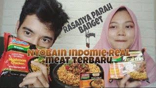 Rewiew INDOMIE Real Meat TERBARU!! RASANYA BURUK??