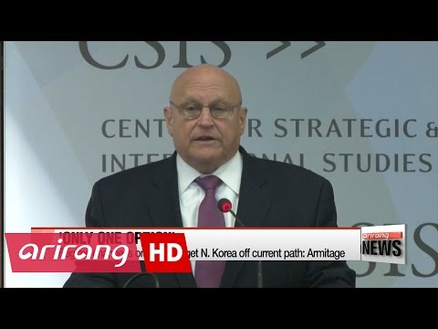 Regime change is only way to get N. Korea off current path: Former U.S. deputy secretary of state