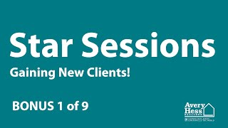 Star Session BONUS - New Agents (1/9)