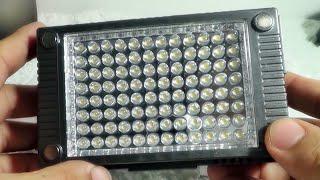 HDV-Z96 II 캠코더 동영상 촬영용 LED 라이트…