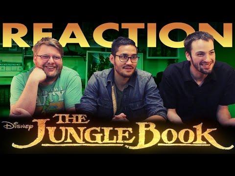 The Jungle Book Official Teaser Trailer REACTION!!
