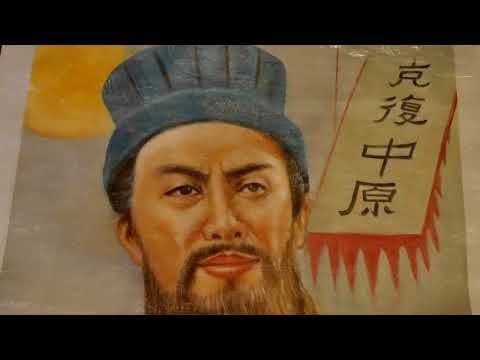 Stunning Oil Painting of Zhuge Liang