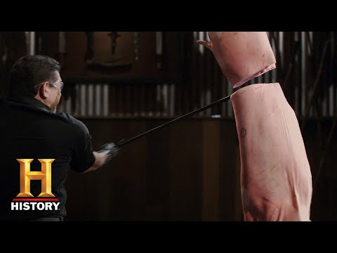 Forged In Fire: THE FALCHION CUTS THROUGH THE FINAL ROUND (Season 6) | History