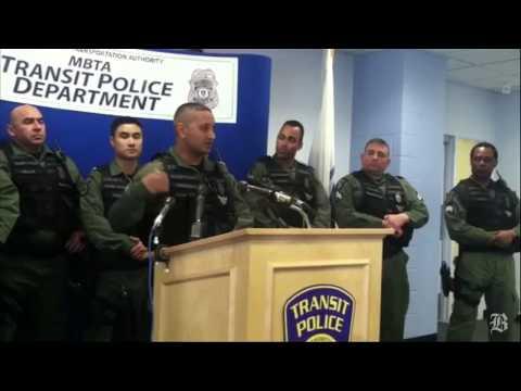 Transit Police officers who made arrest