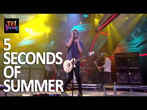 """[HD] 5 Seconds Of Summer - """"Hey Everybody!"""" 11/6/15 TFI Friday"""