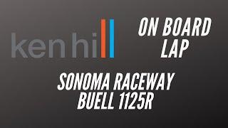 ken hill on a buell 1125r at infineon raceway