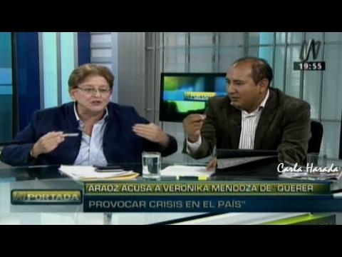 N Portada 15/02 L. Alcorta y R. Arce: ministra de la mujer, Guía, Nadine, Alan, Sánchez, Janot