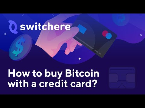 How To Buy Bitcoin With A Credit Card On Switchere.com?