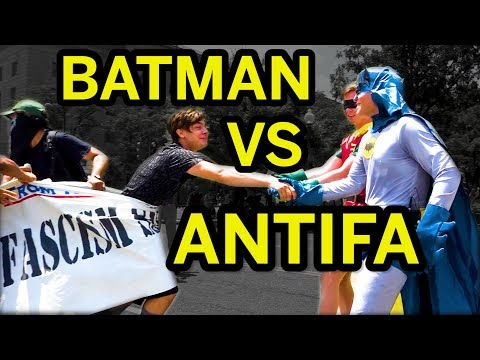 Batman And Robin Save Gotham From Antifa! | The Daily Caller