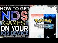 iNDS How To Get Nintendo DS Games on your iOS Device! 9.3.2 & ↓ (NO JAILBREAK) (NO COMPUTER)