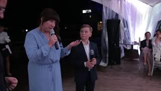 Родители подарили семейный ГЕРБ  молодым на свадьбу