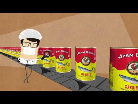 Ayam Brand Sardines Secret: Fresh & Tasty - Singapore