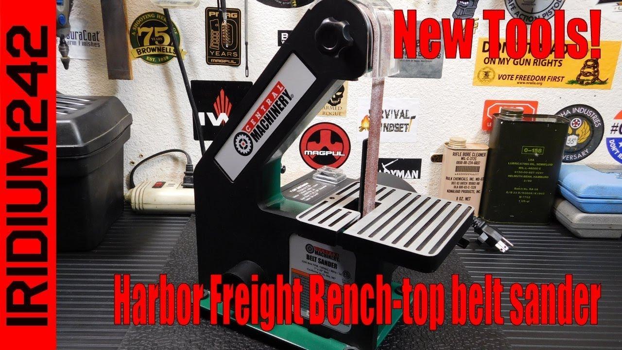 bench sander harbor freight. harbor freight bench top belt sander