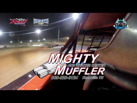 #J8 Jadon Frame - 525 NeSmith Late Model - 4-15-17 Boyd's Speedway - In-Car Camera