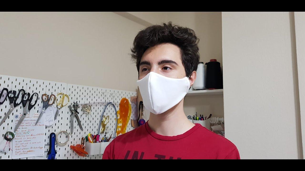 Evde Maske Nasıl Dikilir?How to sew a face mask at home?