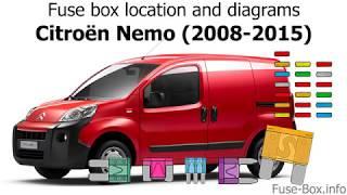 Fuse box location and diagrams: Citroen Nemo (2008-2015) - YouTube | Citroen Nemo Fuse Box Diagram |  | YouTube