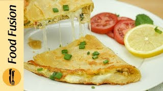 Folded Chicken Paratha Recipe By Food Fusion