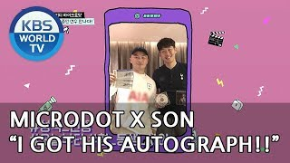 "Microdot ""I got in touch with Son Heungmin!! XD"" [Celeb PD/2018.06.06]"