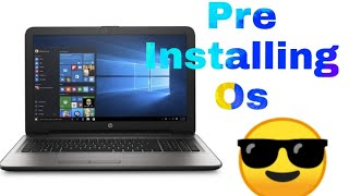 How to install any OS on laptop or Pc that don