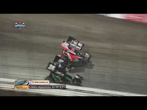 Knoxville Raceway 305 Highlights - June 9, 2017