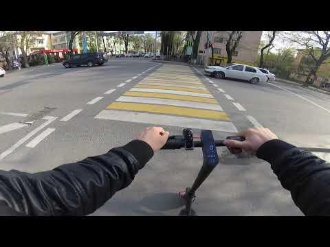 Xiaomi Mijia Electric Scooter Pro на кастомной прошивке. Катание в г. Алматы