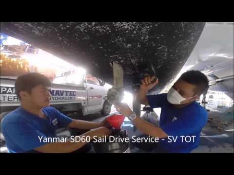 SV TOT - Yanmar Saildrive Service