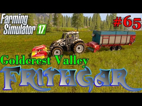 Let's Play Farming Simulator 2017, Goldcrest Valley #65: Mengele Garant And Front Mower Run!