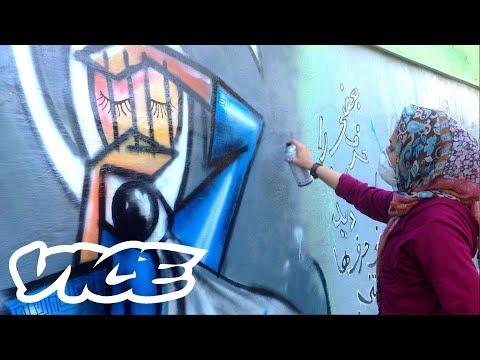 Meet Kabul's Female Graffiti Master