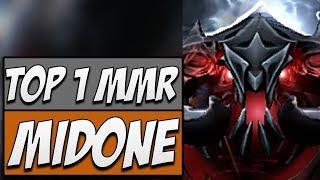Midone Shadow Fiend - TOP 1 MMR | Road to Dota 2 2018