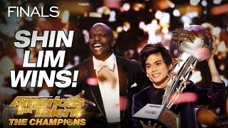 Shin Lim Is THE WINNER! - America's Got Talent The Champions