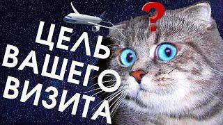 Английский язык для путешествий. Аэропорт. Цель визита