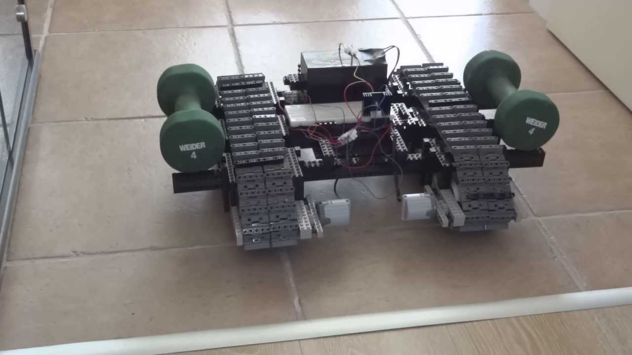 Lego arduino robot video obstacle challenge youtube
