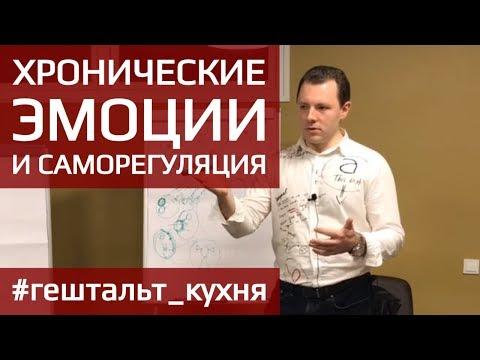 ГЕШТАЛЬТ. Хронические эмоции и саморегуляция. Антон Махновский.