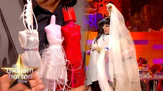Lady Gaga Is Blown Away By Recreation Of Her Iconic Dresses | The Graham Norton Show