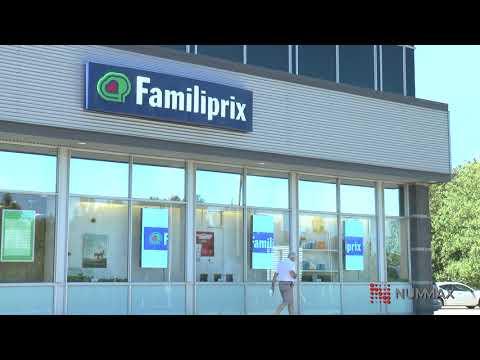 Window LED - Familiprix - Nummax Display Innovation