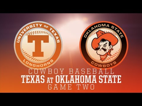 #18 Oklahoma State Baseball vs. Texas - Game 2