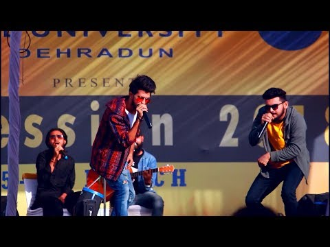 BOLLYWOOD SONG WITH BEAT BOXING | FEST 2K18 |  [HIMGIRI ZEE UNIVERSITY DEHRADUN]