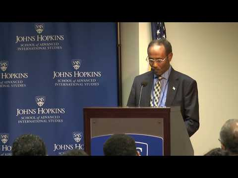 Development Roundtable Dr. Abdirahman D  Beileh, Somalia Minister of Finance