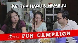 CAMEO Fun Campaign: Ketika Harus Memilih, Prabowo atau Jokowi?