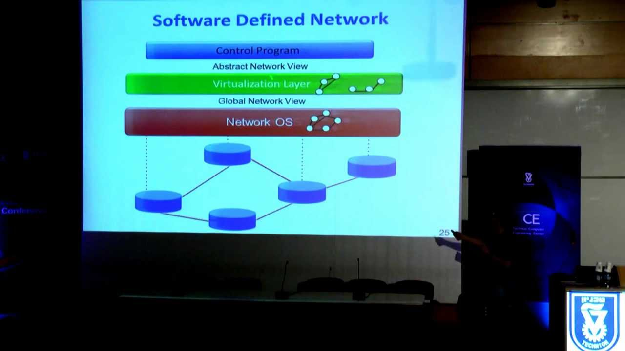 Prof  Scott Shenker - Gentle Introduction to Software-Defined Networking -  Technion lecture