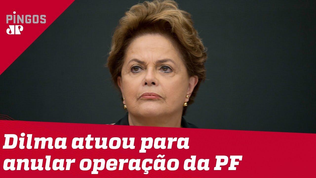 Dilma atuou para anular operação da PF, diz Palocci