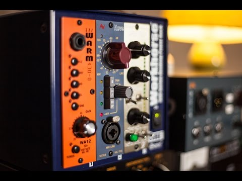 1073 Preamp Comparison (AMS Neve, BAE, Audio Maintenance) at Stage2 Studios