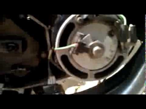 электронное зажигания на Яве  первый запуск