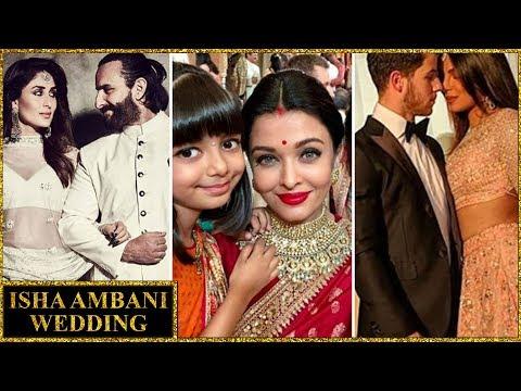Isha Ambani Wedding INSIDE PICS | Aishwarya, Varun Natasha, Kareena, Priyanka