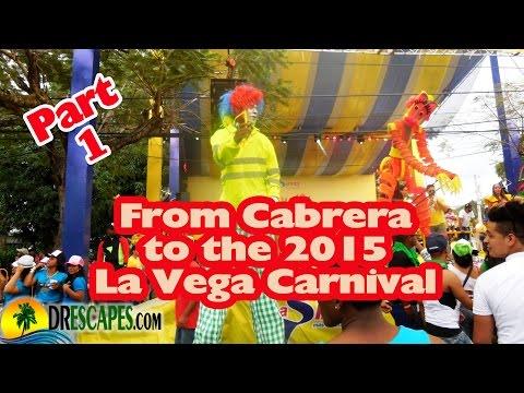Dominican Republic Carnival - La Vega Carnival 2015 - Part1