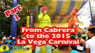 Dominican Republic Carnival - La Vega Carnival 2015 - Part1